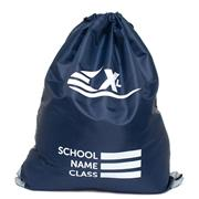 Navy Plimsoll Bag with Reflective Panels (Click For Details)