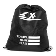Black Plimsoll Bag with Reflective Panels (Click For Details)