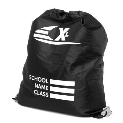 Black Plimsoll Bag with Reflective Panels