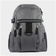 Grey Backpack with Multi Pocket (Click For Details)