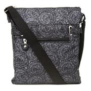 Black and Grey Patterned Cross Body Handbag (Click For Details)