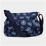Blue Floral Cross Body Bag (Click For Details)