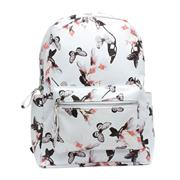 White & Multi Colour Butterfly Backpack (Click For Details)