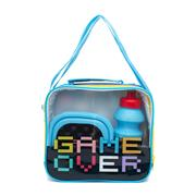Kids Gaming Multi Colour Lunch Bag Set (Click For Details)