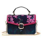 Joe Browns Kiki Navy & Pink Floral Handbag (Click For Details)