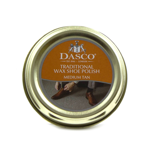 Traditional Tan Wax Shoe Polish