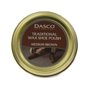 Dasco Traditional Medium Brown Wax Shoe Polish (Click For Details)