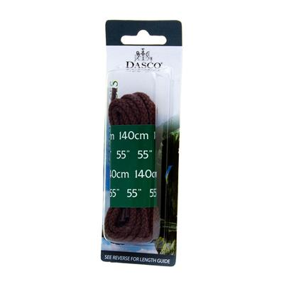 Brown Cord 140cm Shoe Laces