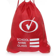 Plimsoll Bag in Red (Click For Details)