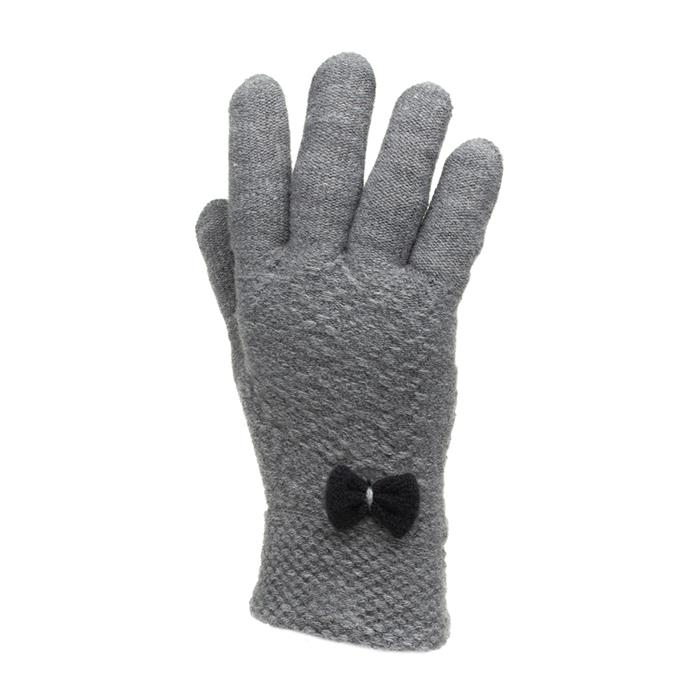 Vintage Style Gloves- Long, Wrist, Evening, Day, Leather, Lace Lilley Womens Grey Knitted Gloves £4.99 AT vintagedancer.com