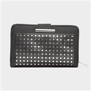 Lilley Womens Black & Metallic Purse (Click For Details)