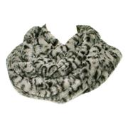 Lilley Womens Grey Leopard Snood (Click For Details)
