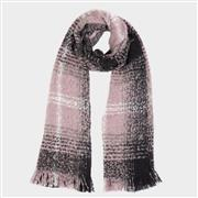 Lilley Mauve and Black Blanket Scarf (Click For Details)