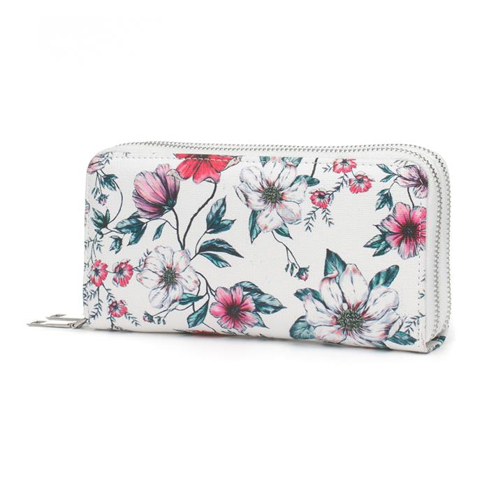 Clothing Accessories Lilley Multi Coloured Floral Double Zip Purse