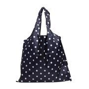 Lilley Navy Polka Dot Fold Up Shopper Bag (Click For Details)