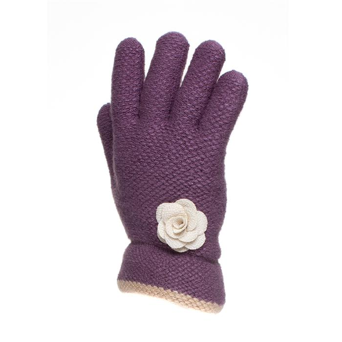 Women's Accessories Adults Lilac Fashion Knit Glove