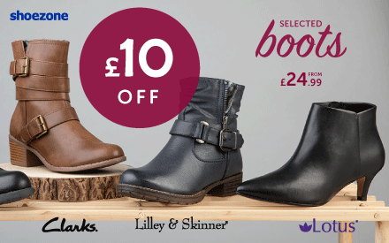 £10 off Boots