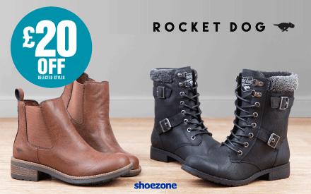 £20 off Rocket Dog