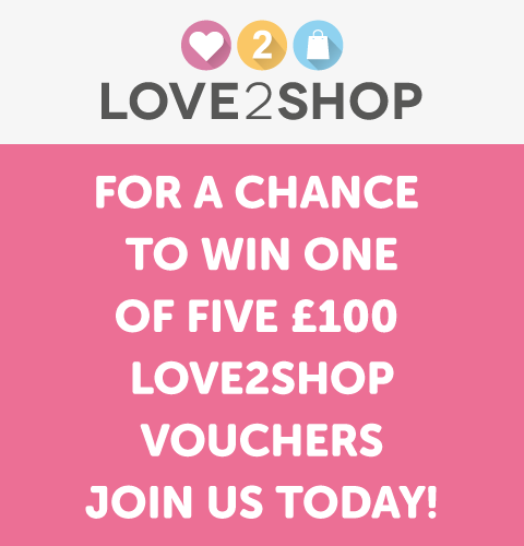 Enter our competition today to be in with a chance of winning £100 worth of Love2shop High Street Gift Vouchers.