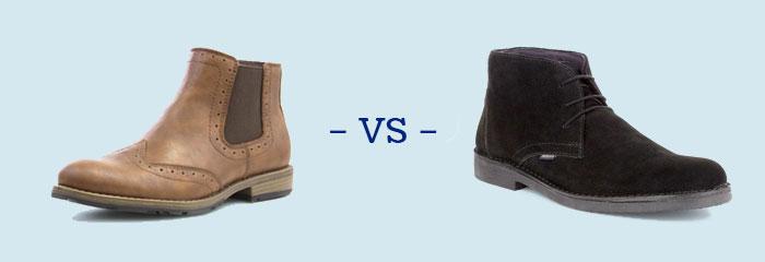 Chelsea vs Desert Boots