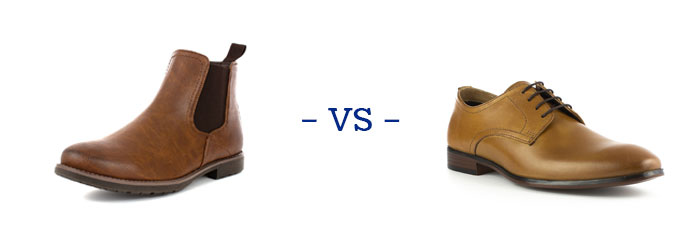 Chelsea Boots vs Shoes