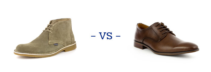 Desert Boots vs Shoes
