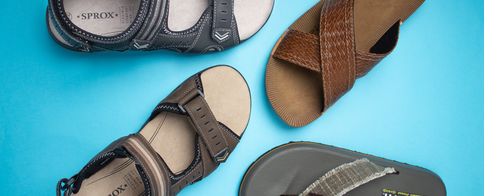 Men's Sandals Features
