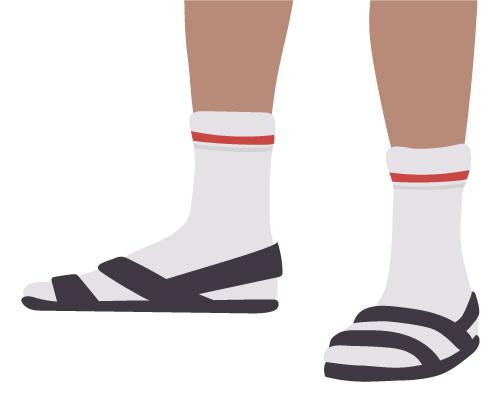 Men's Socks-Sandals