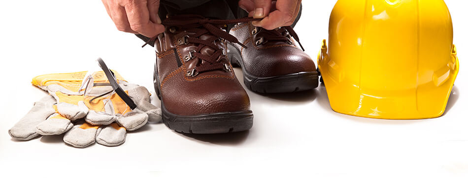 Safety Shoe Lacing & Tying