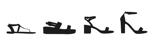 Women's Heel Heights
