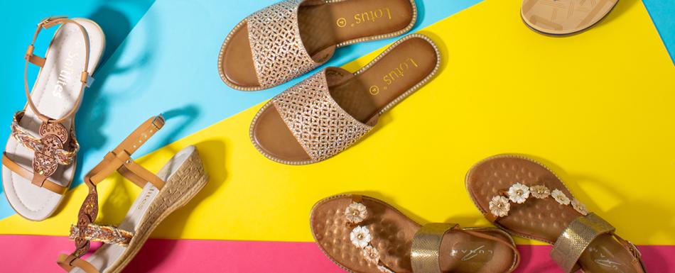 Sandals Versus...