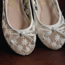 Laced Ballerinas