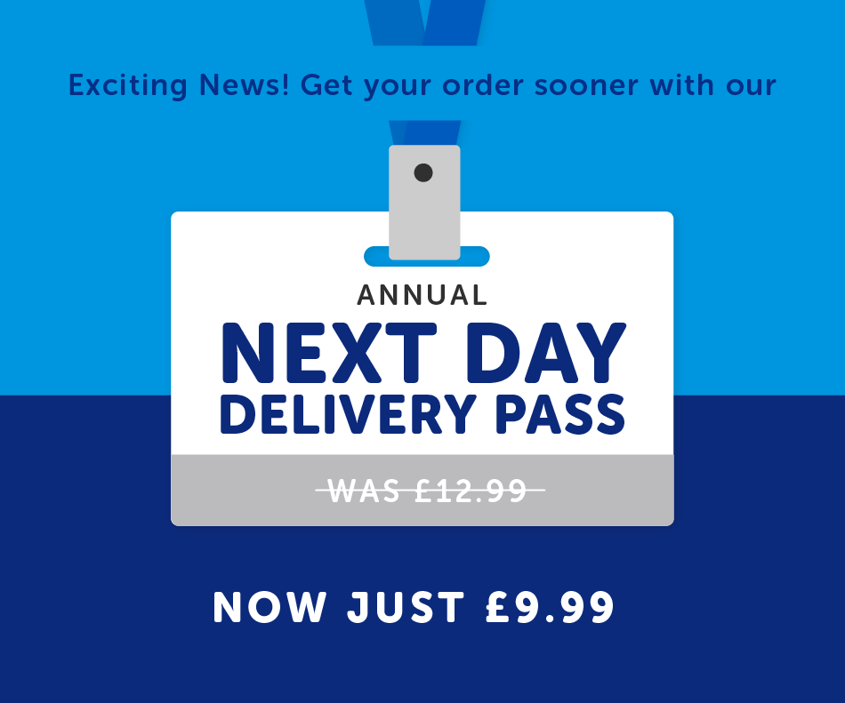 Introducing Next Day Annual Delivery Pass