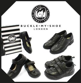 Buckle My Shoe Kids School Shoes