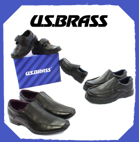 US Brass School Shoes & Mens Shoes