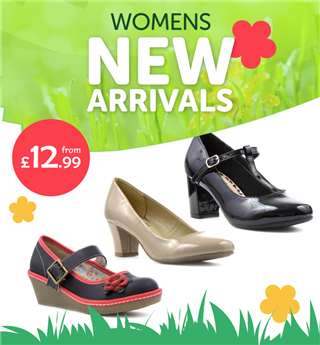 Womens New Arrivals from £12.99