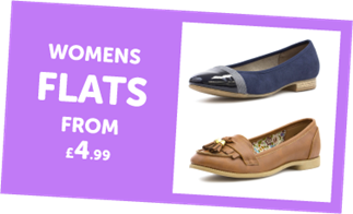 Womens Flat from £4.99