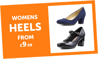 Womens Heels from £9.99