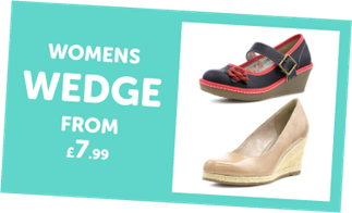 Womens Wedge from £7.99