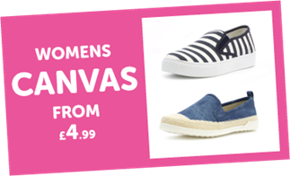 Womens Canvas from £4.99