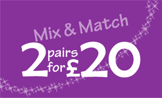 Mix & Match 2 pairs for £20