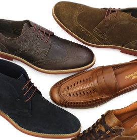 Men's Leather Shoes & Boots