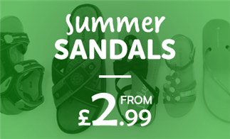 Summer Sandals from £2.99