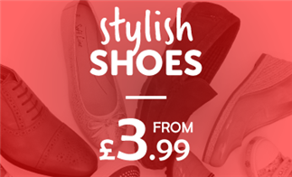 Stylish Shoes from £3.99