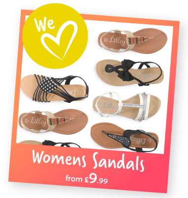 Womens Sandals from £9.99