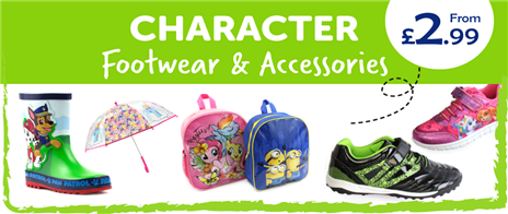 Character Footwear & Accessories