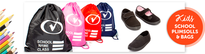 Plimsolls and Bags