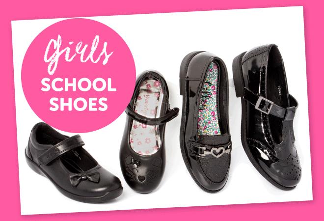Girls School Shoes