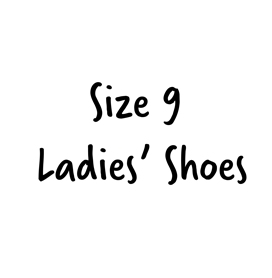 Size 9 Ladies' Shoes