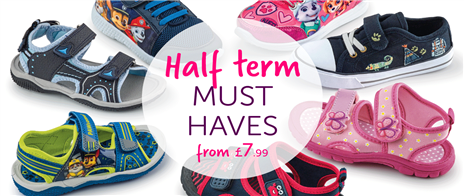 Half Term Must Haves from £7.99